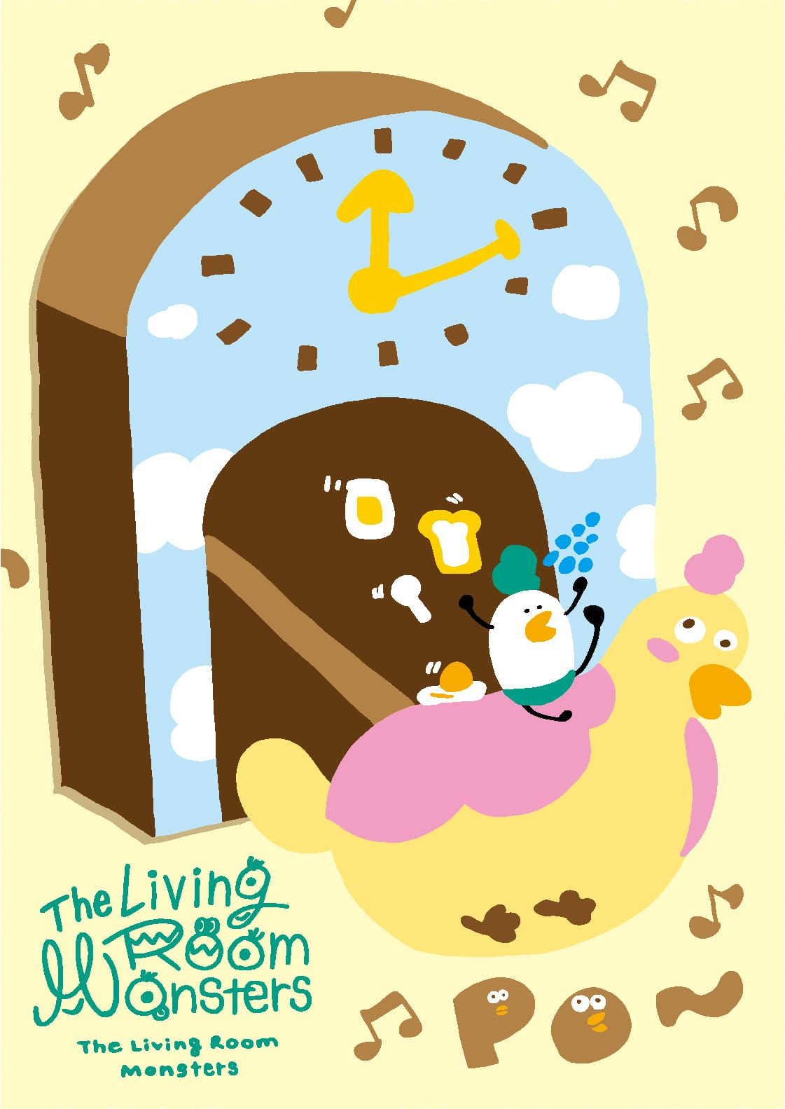 The Living Room Monsters.のポスター